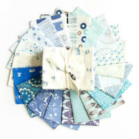 "Art Gallery Special Curated Bundle 18"" Fat Quarters Sky Light 20pcs"