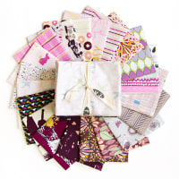 "Art Gallery Special Curated Bundle 18"" Fat Quarters Purple Haze 20pcs"