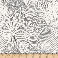 Art Gallery Pine Lullaby Rediscovered Mountain Pines Black/White