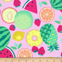 Michael Miller Sew Fruity Fruit Toss Caribe