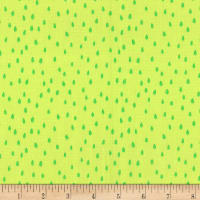 Michael Miller Sew Fruity Sewing Seeds Lime