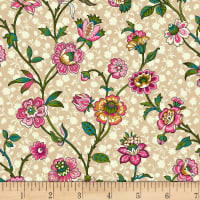 Michael Miller Provencial Provencial Blossom Taupe