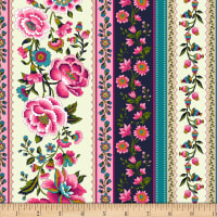 Michael Miller Provencial Provencial Stripe Pink