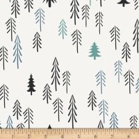 Art Gallery Pine Lullaby Jersey Knit Loblolly Pine