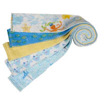 "Itty Bittys 2.5"" Strips At Sea 15pcs Multi"
