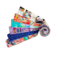"Sassier Animals Digital 2.5"" Strips 24pcs Multi"