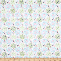 Fabric Editions Hello Spring Fab Color Puff White