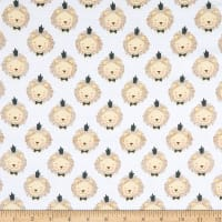 Fabric Editions Little Lion King of The Jungle White