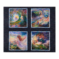 "Ray of Hope Digital Small 36"" Panel Multi"