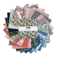 "Liberty Fabrics Summer House 10"" Stacker 42 Pcs Multi"