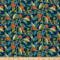 Liberty Fabrics Summer House Conservatory Fruits Red