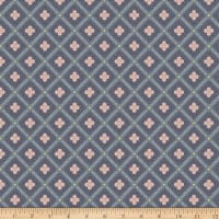 Liberty Fabrics Summer House Manor Tile Charcoal