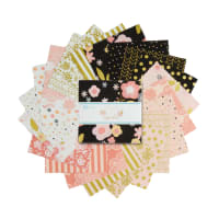 Riley Blake A Little Bit of Sparkle 5 Inch Stacker 42 Pc