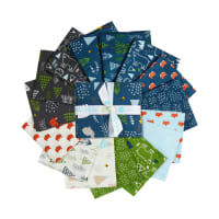 Riley Blake In The Forest Fat Quarter Bundle15 Pc