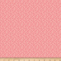 Riley Blake Vintage Happy 2 Ring Toss Coral