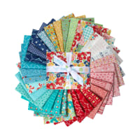 Riley Blake Vintage Happy 2 Fat Quarter Bundle 30 pcs. Multi