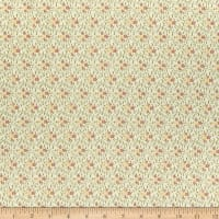 Riley Blake Buttermilk Basics Flowers And Vines Pink