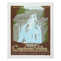 "Riley Blake National Parks Cuyahoga 36"" Panel Multi"