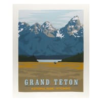 "Riley Blake National Parks Grand Teton 36"" Panel Multi"