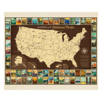 "Riley Blake National Parks Poster 36"" Panel"