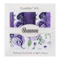 Shannon Minky Cuddle Kit Picture Perfect I Lilac You