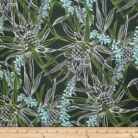 Trans-Pacific Textiles Pineapple Lei Aloha Green