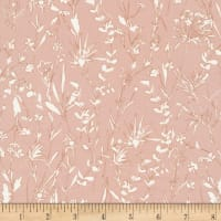 Cloud9 Fabrics Organic A House In Bloom Vanessa Pink
