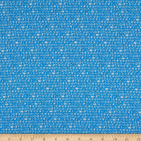 Cloud9 Fabrics Organic Ed Emberley Favorites Scribbles Blue