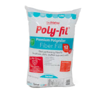 Poly-Fil® Premium Fiber Fill 12 Ounce Bag
