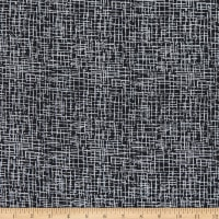 "Westrade 110"" Wide Quilt Back Betula Black/White"
