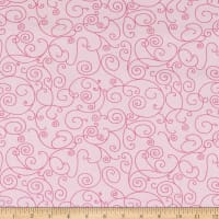"""Westrade 110"""" Wide Quilt Back Willow Soft  Pink"""