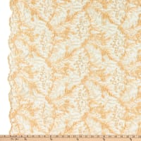 Starlight Omaha Embroidered Sheer Champagne