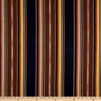 Laura & Kiran Southwest Stripes Dakota Navy/Brown