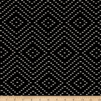 Laura & Kiran Diamond Dash Doubleweave Black/White