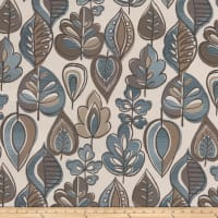 Tempo Fabrics Grand Autumn Jacquard Teal
