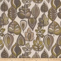 Tempo Fabrics Grand Autumn Jacquard Lime