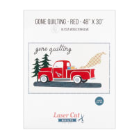 Laser Cut Quilts Gone Quilting Firehouse Red Laser Cut Applique Kit