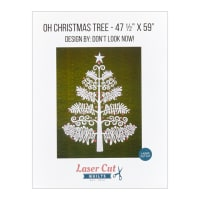 Laser Cut Quilts Oh Christmas Tree Laser Cut Applique Kit