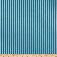 Covington New Woven Ticking Stripe Caribe