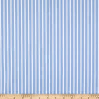 Covington New Woven Ticking Stripe Dream Blue