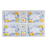 "P&B Textiles Citrus Sayings 24"" Panel Multi"