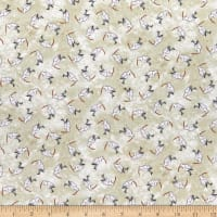 P&B Textiles Sailors Rest Sand Pipers Neutral