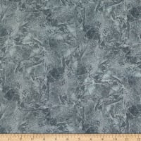 P&B Textiles Fracture Texture Silver/Grey