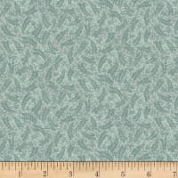 Stoffabric Denmark Colourflow Leaves & Berries Frost