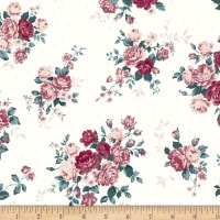 Stoffabric Denmark Avalana Digital Prints Roses and Flowers Rose
