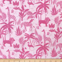 Fun Flannels Jungle Pink