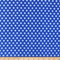 Fun Flannels Dots Blue