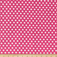 Fun Flannels Dots Pink