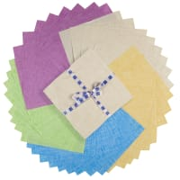 P&B Textiles Color Weave Soft Brights 10 Squares 42 pcs