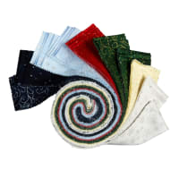 "P&B Textiles Sparkle Suede 2.5"" Strips 40 pc"